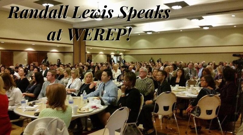 Local Icon Randall Lewis speaks at WEREP!